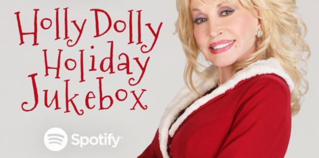 Dolly Parton Christmas Playlist on Spotify