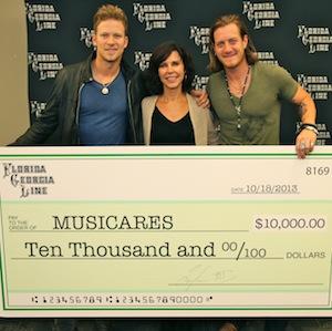 MusiCares Donation Justin Mrusek