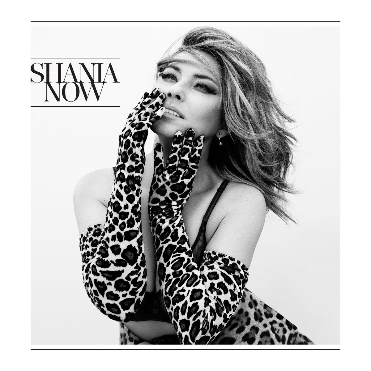 Shania Twain album art on Country Music News!